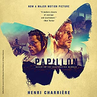 Papillon audiobook cover art