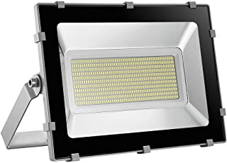 Viugreum 300W LED Flood Light, Waterproof IP65 30000LM, Outdoor Super Bright Security Lights, Daylight White (6000-6600K) Stadium Lights for Garden, Garage, Factory, Warehouse, Fast shipping from USA