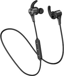 SoundPEATS(サウンドピーツ) Q12Plus Bluetooth イヤホン Bluetooth5.0搭載 APT-XLLコーデック対応 高音質・低遅延 ブルートゥース イヤホン 10MMドライバー採用 9時間連続再生 IPX6防水 イヤホン マグネット内蔵 CVC8.0 ノイズキャンセリング搭載