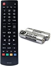 Best AKB74915305 Replacement TV Remote for LG TV 49UH6030 43UH6100 43UH6030 49UH6100 49UH6090 55UH6090 43UH6500 49UH6500 50UH5530 55UH6150 50UH5500 55UH6030 60uh6150 60uh6550 with GP Alkaline 2 Batteries Review