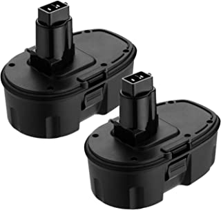 [Upgraded] 2 Packs 18V 3600mAh Ni-MH Extended Capacity Replace Battery for Dewalt 18 volt XRP DC9096 DC9098 DC9099 DE9098 DE9503 DW9095 DW9096 DW9098 Cordless Power Tools