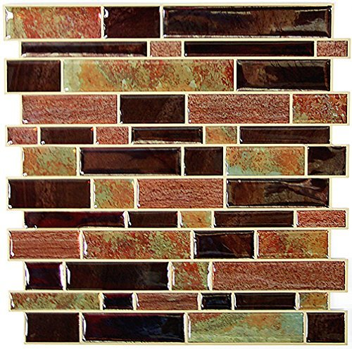 RoomMates StickTILES Modern Long Stone Peel and Stick Backsplash Tiles - 4 Per Pack