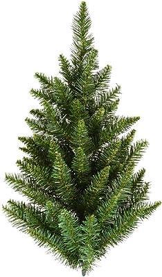 Vickerman Unlit Camdon Fir Half Tree, 2-Feet, Green