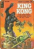 Vvision King Kong Comic Die Kunst Eisen malerei Zinn