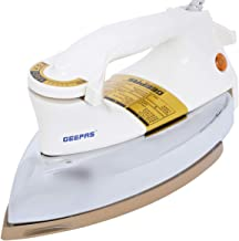 Geepas Dry Iron/Golden Teflon/2.5kg 1X6 GDI2771