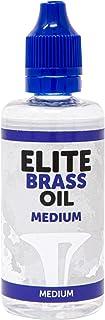 Elite Brass Oil Medium - Aceite para rotores, válvulas y pistones de trompeta, trompa, fliscorno, corneta, tuba o otros instrumentos de viento metal