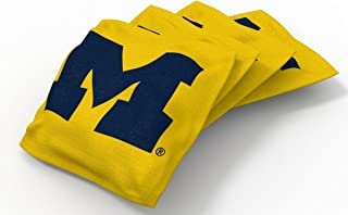Wild Sports NCAA Authentic Cornhole Bean Bag Set (4 Pack)