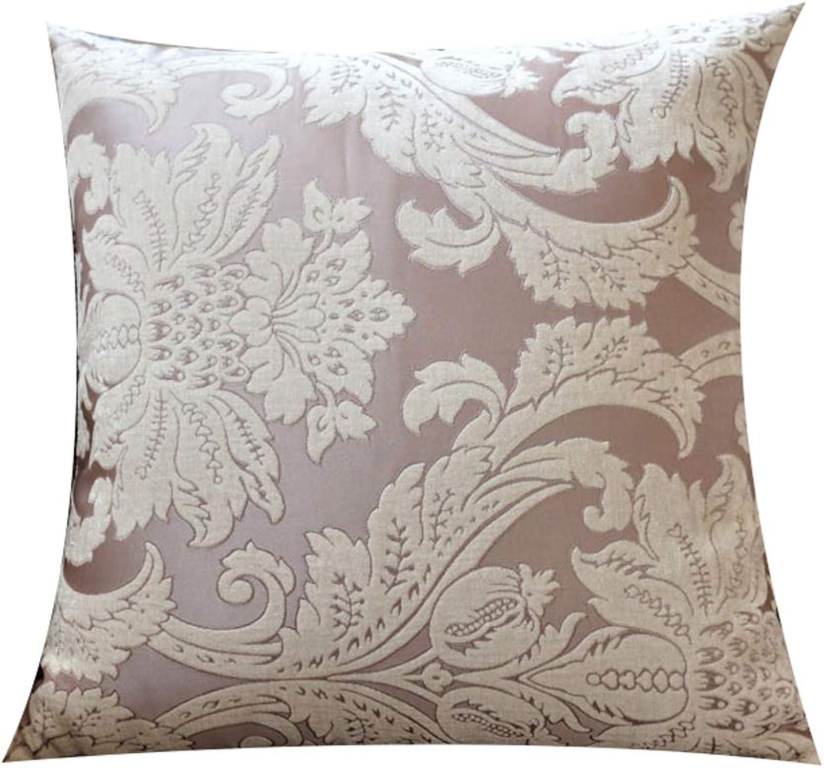LJHA Dossier oreiller canapé oreiller avec noyau d'oreiller (2 modèles et 4 tailles) (Couleur   A, taille   60  60CM)