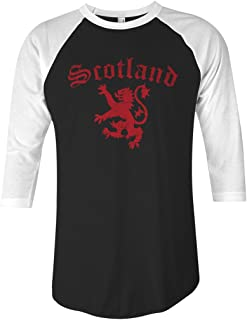 Threadrock Lion of Scotland Unisex Raglan T-Shirt