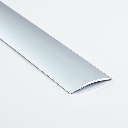 /Übergangsprofil flach//selbstklebend; 37mm//200cm Alu eloxiert bronze