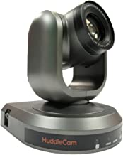 HuddleCamHD 10X-GY-G3 2.1 MP 1080p PTZ Camera, 10x Optical Zoom, 30 fps, Gray