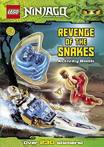 Lego Ninjago: Revenge of the Snakes Sticker Activity