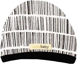قبعة أطفال عضوية للأطفال من الجنسين من L'ovedbaby (باللون الأبيض، 6-12 شهرًا)