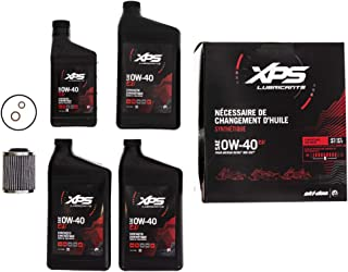 SKI-DOO 4T 0W-40 Synthetic Oil Change Kit for Rotax 900 ACE engine
