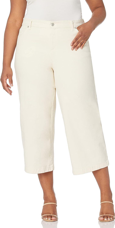 Gloria Vanderbilt Women's Amanda Wide Length Crop Jean Mail order Leg Nashville-Davidson Mall