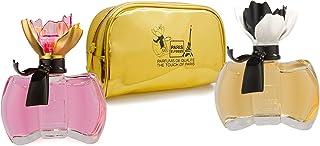 Set regalo : 2 perfumes La Petite Fleur mujer 100ml Paris Elysees Neceser