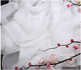 WYMAI Silk Scarves, Women's Scarves, Spring And Autumn Silk Scarves, Shawls, Dual-use Silk Shawls, Sunscreen Scarves Simple and practical product (Color : Clear, Style : 135 * 135cm)