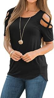 cold shoulder jean shirt