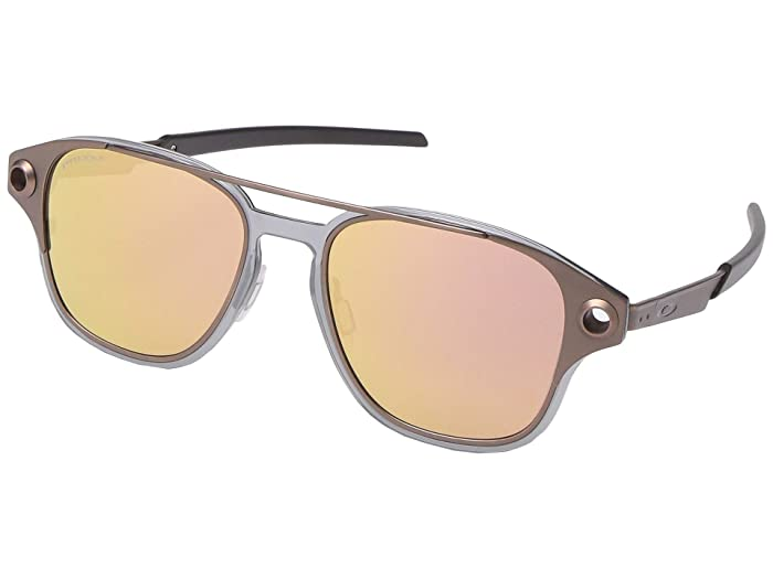 Oakley  52 mm Coldfuse (Satin Toast with PRIZM Rose Gold) Fashion Sunglasses