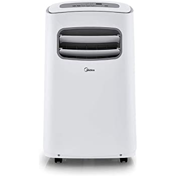 Midea Portable Conditioner 12000 BTU Easycool AC (Cooling, Dehumidifier and Fan Functions) for Rooms up to 300 Sq, ft. Standing Air Conditioning 12,000