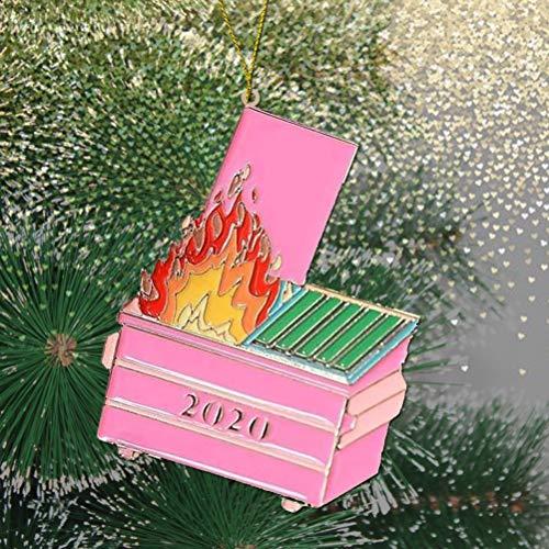 Adornos de madera de Navidad para colgar adornos con árbol de Navidad, muñeco de nieve, copo de nieve para el día de San Valentín, aniversarios, bodas, coloridos y pequeños corazones de San Valentín