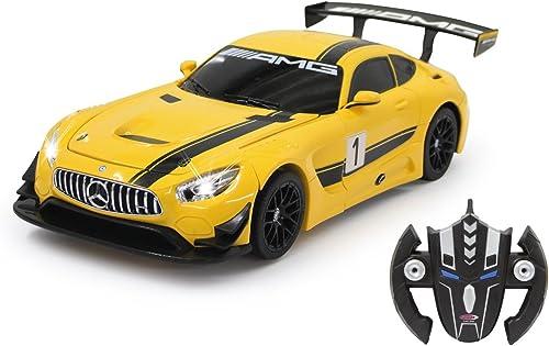 almacén al por mayor Jamara 410029 - Modelo de Mercedes AMG GT3 Transformable Transformable Transformable (1 14, 2,4 GHz), Color amarillo  punto de venta