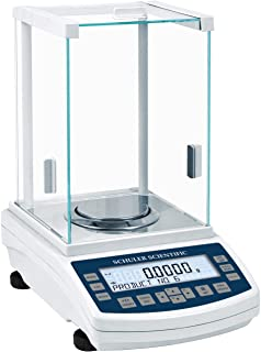 Schuler Scientific SAS-224 A Series Analytical Balance with 220g Capacity and 0.1mg Readability