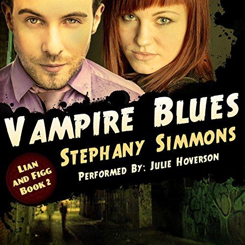 Vampire Blues audiobook cover art