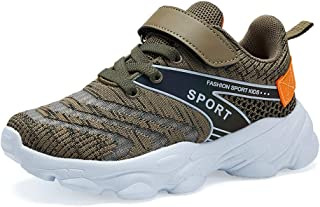 Forucreate Kids Running Shoes Breathable Boys Sneakers Girls Lightweight Athletic Shoes