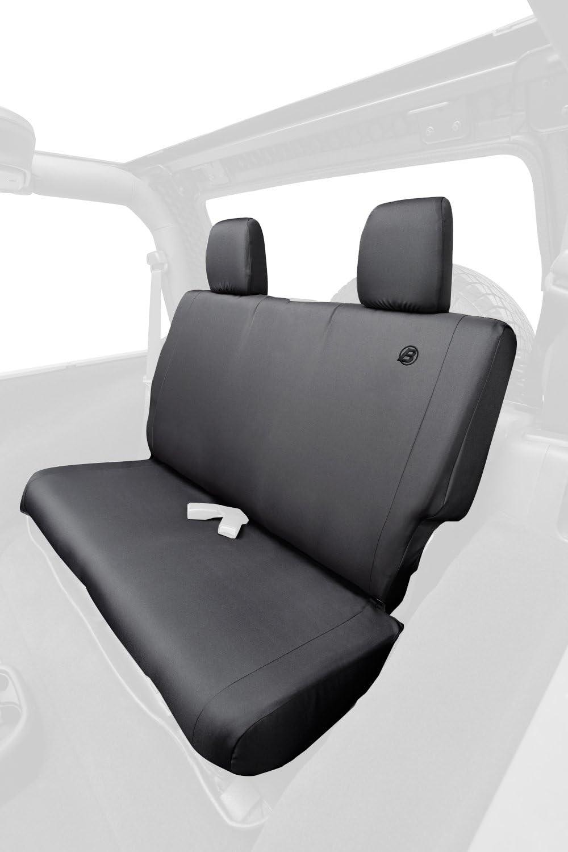 Bestop Dealing full price reduction New item 2928235 Black Diamond Rear Covers for Seat 2007-2018 Wran