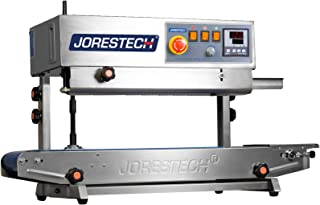 JORESTECH Continuous Band Sealer CBS-730I with Digital Temperature Control (Stainless Steel) VERTICAL/HORIZONTAL