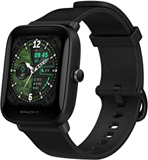 Amazfit Bip U Pro Smart Watch with Built-in GPS, 9-Day Battery Life, Fitness Tracker, Blood Oxygen, Heart Rate, Sleep, Str...