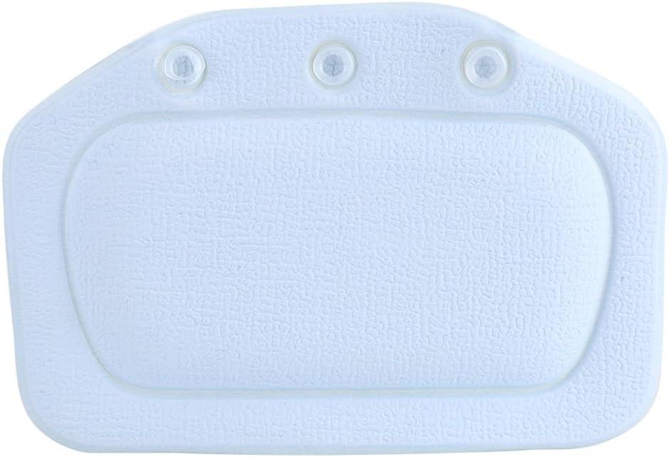 Bathtub Pillow PVC Soft Foam Sponge He Bath Padded Spa Headrest Indefinitely Max 54% OFF
