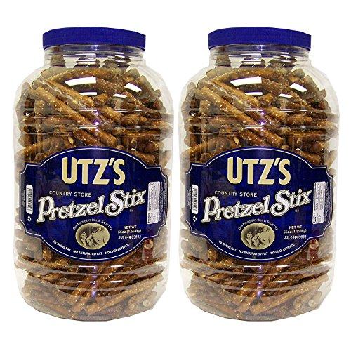 Utz Country Store Pretzel Stix Barrels 55 oz 2 pk SCS