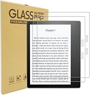 TERSELY [2 Pack] All-New Kindle Oasis Screen Protector, Premium 9H Tempered-Glass Screen Protector for Amazon All-New Kind...