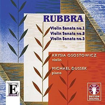 Rubbra: Violin Sonatas Nos. 1, 2 & 3