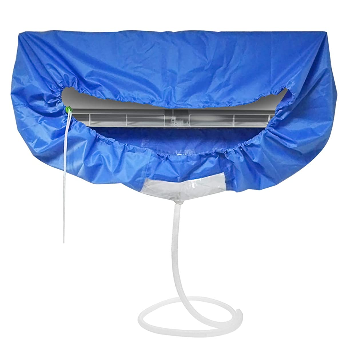 リンクマークされたオンエアコン 洗浄 カバー 掃除 シート 壁掛け用 排水 家庭用クリーニング 【ホース長さ 約2m】CoiTek