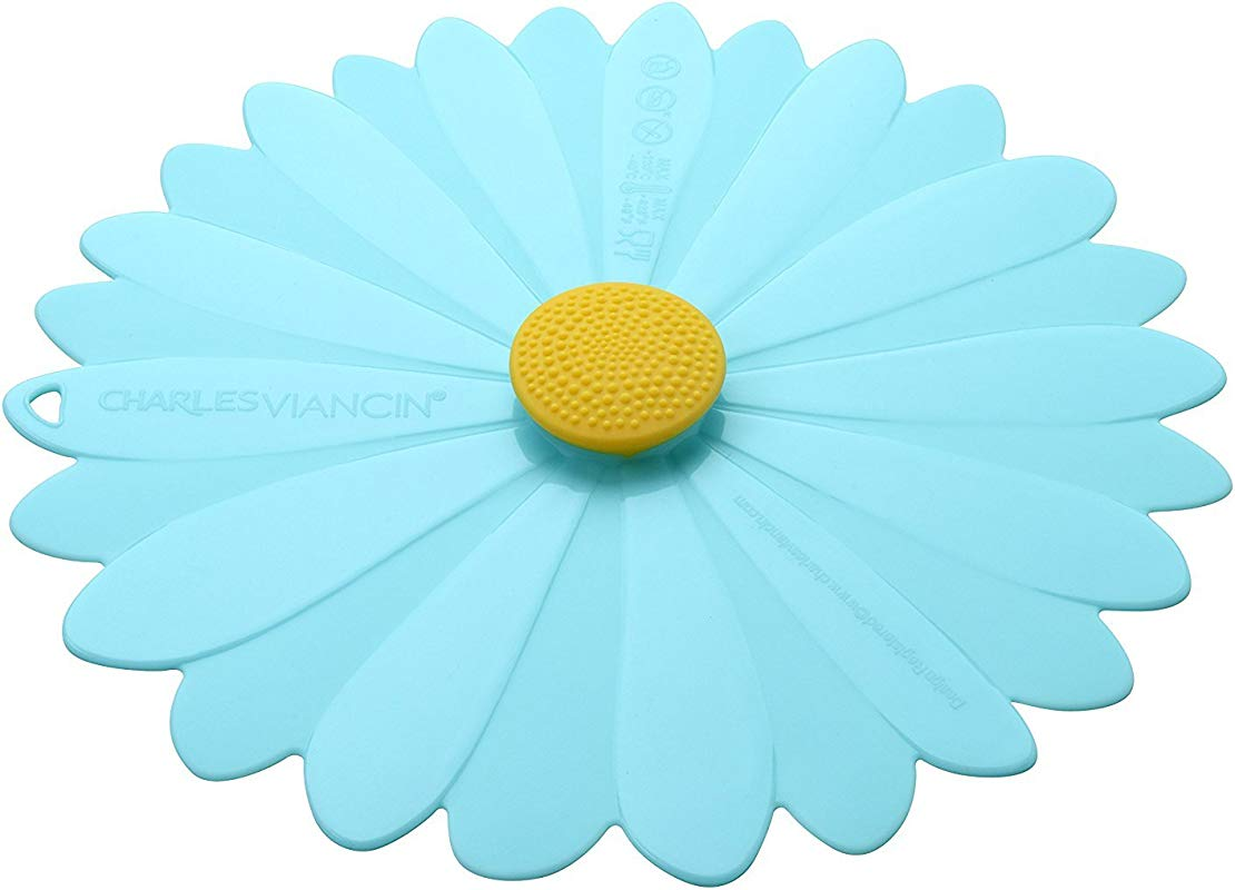Charles Viancin Daisy Silicone Lid Daisy 8 Blue