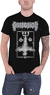 Dissection T Shirt The Past is Alive Band Logo Official Mens Black Size S