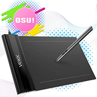OSU Tablet VEIKK S640 Ultra-Thin 6x4 Inch Graphics Drawing Tablet with Battery-Free Pen 8192 Levels Pressure