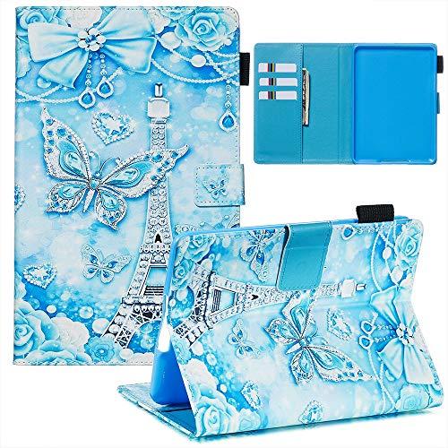 Xifanzi - Funda Ultrafina para Galaxy Tab S5e T720/T725 10.5, Turm Schmetterling, Amazon Paperwhite 1/2/3/4