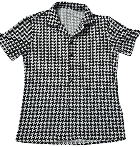 The Hank Shop Men's Houndstooth Shirt (XL) Bowling Shirt