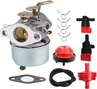 Harbot 640298 Carburetor for Tecumseh OHSK70 OH195SA 5.5HP 7HP Engines Ariens Toro 2 Stage Snow Blower with Repower Kit