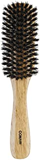 Conair Wood Flair Brush with Mixed Boar Bristles (Pack of 3)