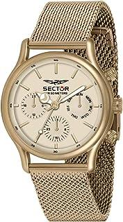 Sector No Limits Orologio da uomo, Collezione 660, in Acciaio, IP oro beige - R3253517015