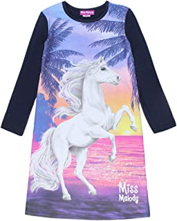 Miss Melody Niña el Camisa de Noche, Ropa de Noche, Azul