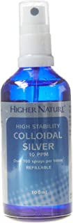 Higher Nature Colloidal Silver Spray - 100ml