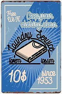 GUOYXUAN Cartel de Estilo cómico decoración de Pared Placa de Metal Retro Cartel decoración de la habitación Tablero 20 * ...