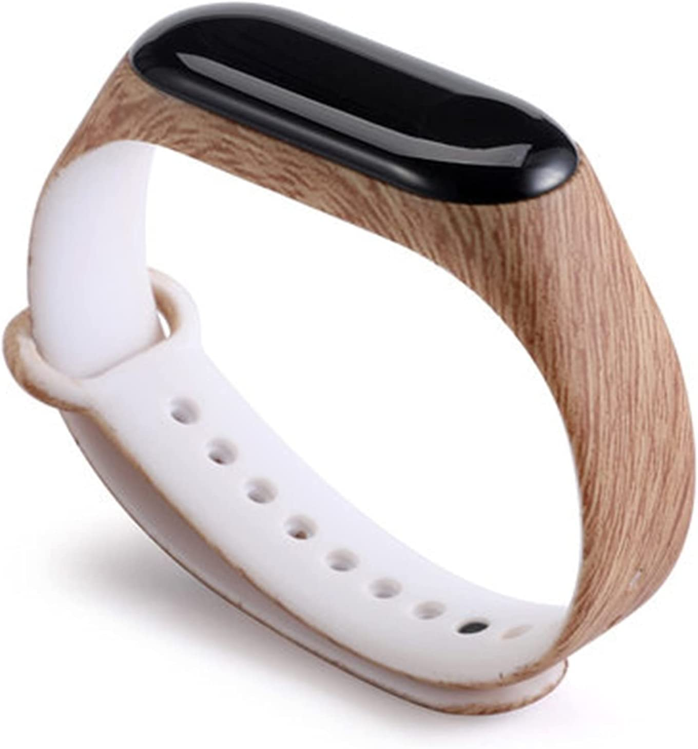 YINGKOU Strap for Sport Wristband Silicone Bracelet Replacement Straps (Band Color : A63, Size : Mi Band 4)