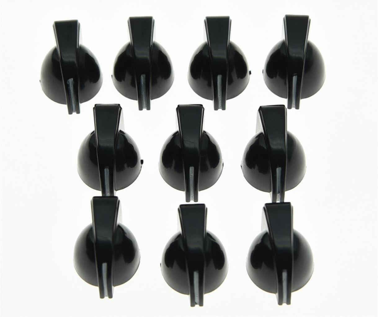 KAISH 20x San Diego Mall Mini Chicken Head Knobs AMP Safety and trust Guitar Amplifier Effe Knob
